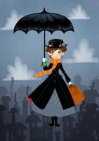 Mary Poppins remake by OlayaValle