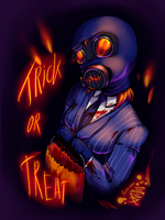 TF2 - Trick or Treat by Tanita-sama