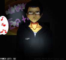 Five Nights with Markiplier by NecroMasterSyl