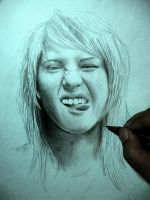 Unfinished Hayley by zsami