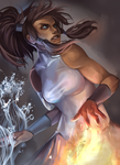legend of korra by raspbearyart