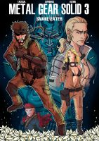 MGS3 Snake Eater by JFRteam