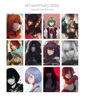 Art Summary 2015 by Koyorin