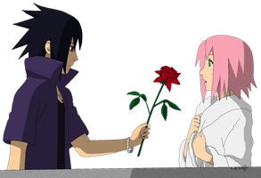RTN SasuSaku - Lineart colored by DennisStelly