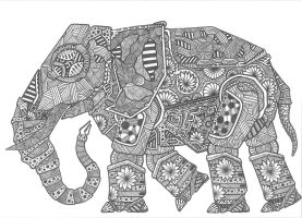 Elephant by ExScout