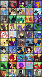 50 Characters by TheLeatherDragonI