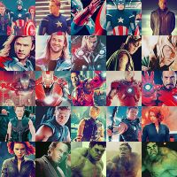 The Avengers Icons by YeyeC