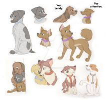 Dogified Cars 2 Sketches by FaithFirefly