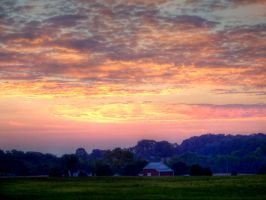 Country Sunrise by jim88bro