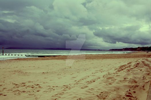 Storm in the distance by charlottezima