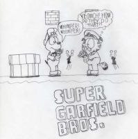 Super Garfield Bros. 2 by LBDNytetrayn