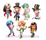 Jojo's Bizarre Stickers Vol.2 by viciousSHADi
