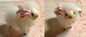 Boo Sheep Miniature by balletvamp