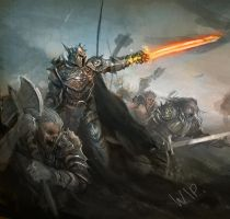 Lord of Fires Attack-WIP by alikasapoglu