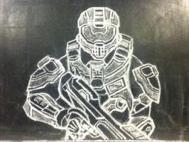 Master Chief (Halo 4 version) by 0mni42