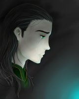 Loki Laufeyson - Broken King by Kiba-Shiruba