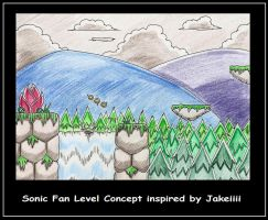 Fan Game Sonic Rush 3 level 1 by funkyjeremi