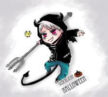 Halloween 2010 -Chibi Prussia by SoloAzume