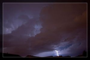 Lightning - 2 by Delusionist