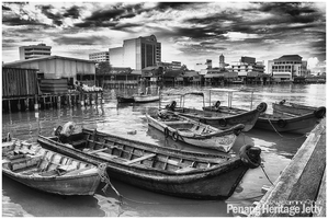Penang Heritage Jetty by carnine9