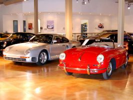 3E of 3 Porsche 356 Super 90 by Partywave