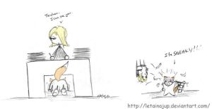 Bleach_Gin is Sneaky by letainajup