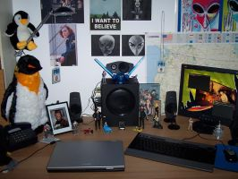 Home Desk shot - II by pkmurugan