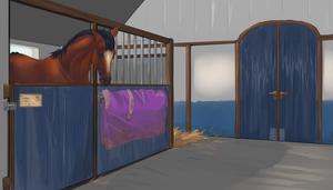 Stable view 1 by Roiuky
