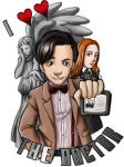 11th Doctor by ScuttlebuttInk