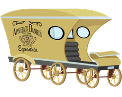 Applejack Daniel's Waggon by ShinodaGE