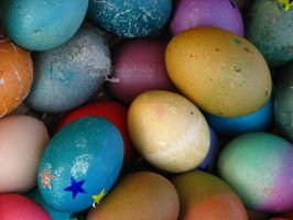 easter eggs by courey