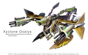 Xyclone Oxalys by Lazcht