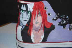 Right Shoe - Ulquiorra-Renji by Naitachal666