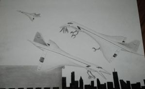 Nesting Concordes by concaholic