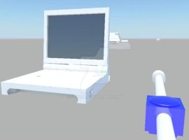 gameboy SP 3d mental ray by 3Ninja