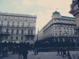 Vienna ~ Walking in the Street by MlleCalona