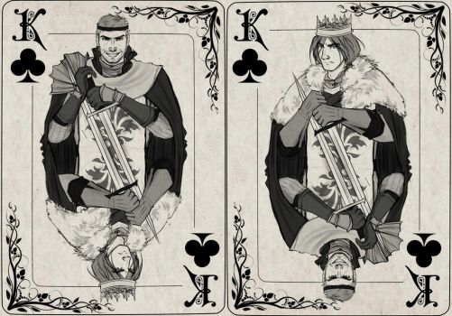King(s) of Clubs by Alisssia