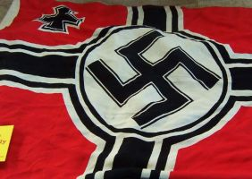 Full Nazi flag by kushiels-priest