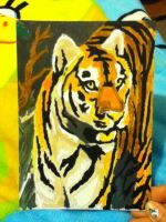 Tiger Paint by Number by socks-15