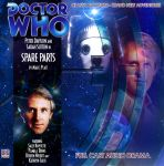 Doctor Who Big Finish Covers by KevMullen