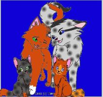 Ashfur X Squirrelflight by Cardinalpaw