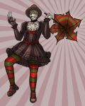 Gothic Lolita Freddy Commish by Fishmas