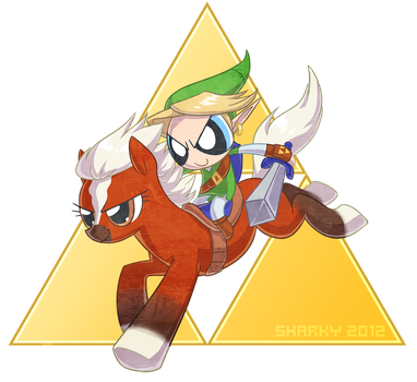 Triforce Trifecta by albinosharky
