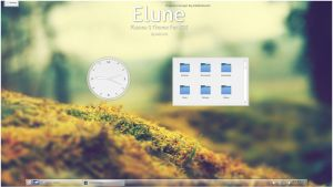 Elune For Plasma 5 by half-left