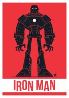 Iron Man Vector by funky23