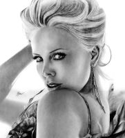 Charlize Theron by SandraSaar