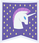 Unicornia flag by Silvertie