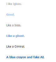 Day thirty six- go on cleverbot by JazmineVanity