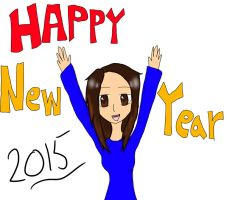 New Years Drawing by xenul001