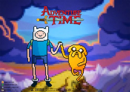 Adventure Time by i605